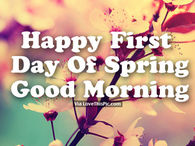 Happy spring pictures photos images and pics for facebook tumblr pinterest and twitter - Happy spring day image quotes ...