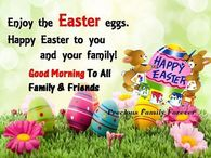 Good Morning Easter Quotes Pictures, Photos, Images, and