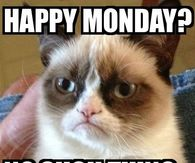 254066 No Such Thing As Happy Monday monday meme images pictures, photos, images, and pics for facebook