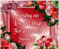 Sunday greeting pictures photos images and pics for facebook sending out love and hugs for a blessed sunday m4hsunfo