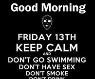 Happy Friday The 13th Quotes Pictures Photos Images And Pics For