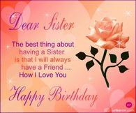 Happy Birthday Sister Quotes Pictures, Photos, Images, and