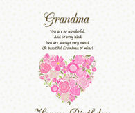 Happy Birthday Grandma Quotes Happy Birthday Grandma Quotes Pictures, Photos, Images, and Pics  Happy Birthday Grandma Quotes