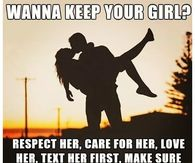 258776 Wanna Keep Your Girl love memes pictures, photos, images, and pics for facebook, tumblr,Love Memes For Her