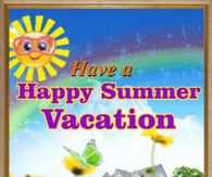 Have A Happy Summer Vacation