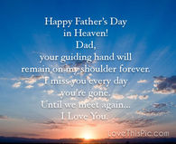 Happy Happy Fathers Day In Heaven The Fresh Quotes Fathers Day In Heaven Quotes Pictures Photos Images And Pics For