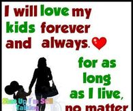 i will always love my kids