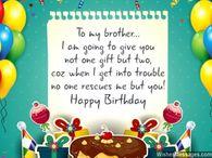 Happy birthday dear brother wallpaper