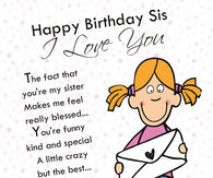 Awesome Happy Birthday Sister Quotes Pictures Photos Images And Pics Personalised Birthday Cards Paralily Jamesorg