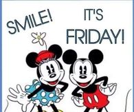 Cute friday quotes pictures photos images and pics for facebook micky and minnie friday quote voltagebd Images
