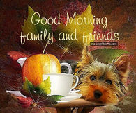 Autumn Good Morning Quotes Pictures, Photos, Images, and