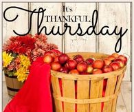It's Thankful Thursday at TAOTS!