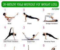 20 Minute Yoga Workout For Weight Loss