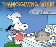 It's Thanksgiving Week!