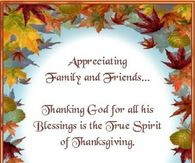 appreciating family and friendspraying gods blessing for you this thanksgiving