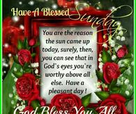 Sunday greeting pictures photos images and pics for facebook have a blessed sunday m4hsunfo