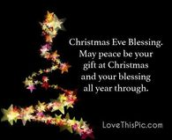 Christmas Eve Blessings Quote