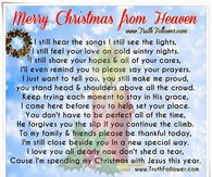 picture regarding Christmas in Heaven Poem Printable identify Xmas Within just Heaven Offers Photos, Pics, Photos, and