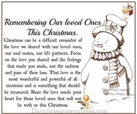 Remembering Our Loved Ones This Christmas