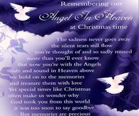 remembering our angel in heaven