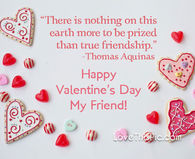 Happy Valentine's Day friend