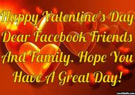 Happy Valentines Day Quote For Friends And Family