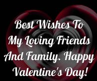 Best Wishes On Valentine's Day