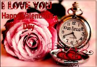 I love you happy valenties day
