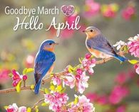Image result for goodbye march hello april