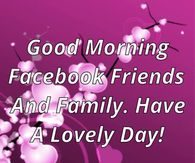 Good Morning Quotes For Facebook Pictures Photos Images And Pics