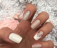 Nude nails pictures photos images and pics for facebook tumblr nude nail art prinsesfo Choice Image