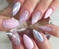 Nail design pictures photos images and pics for facebook incredible holographic nail art prinsesfo Image collections