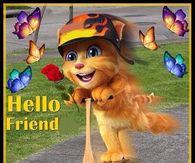 Hello Friend, Happy Thursday