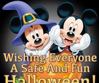 wishing everyone a safe and fun halloween