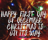 First Day Of December Pictures Photos Images And Pics For