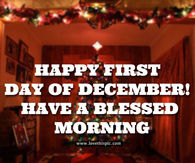 Happy First Day Of December Quotes Pictures Photos Images And