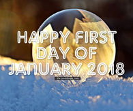 Captivating Happy First Day Of January 2018