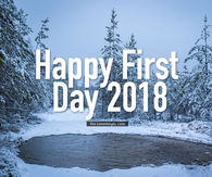 ... Good Morning · January Quotes · Happy First Day Of 2018