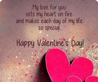 Happy Valentines Day My Love For You Is Special