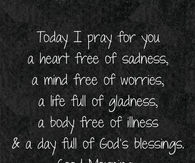 Today I Pray For You Good Morning