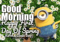 Minion quotes pictures photos images and pics for facebook tumblr pinterest and twitter - Happy spring day image quotes ...