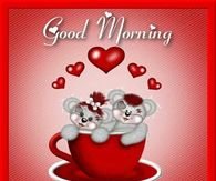 Teddy Bears In A Cup Morning Heart Quotes