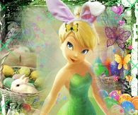 Tinkerbell Happy Easter