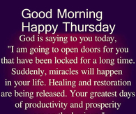 Good Morning Thursday Pictures Photos Images And Pics For