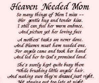 Mothers Day Heaven Quotes Pictures Photos Images And Pics For