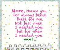 Thank You Mom Quotes Pictures, Photos, Images, and Pics for ...