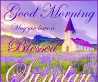 Sunday greeting pictures photos images and pics for facebook good morning may you have a blessed sunday m4hsunfo