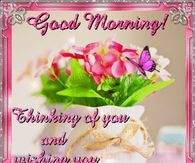 Good morning greetings pictures photos images and pics for good morning thinking of your wishing you a sparkling m4hsunfo