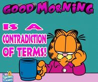 Garfield Good Morning Quotes Pictures Photos Images And Pics For Facebook Tumblr Pinterest And Twitter