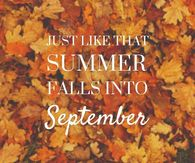 September Quotes September Quotes Pictures, Photos, Images, and Pics for Facebook  September Quotes